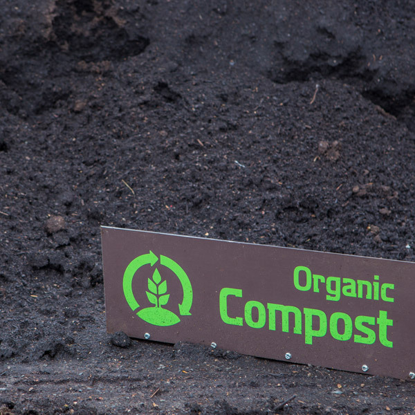 Organic compost card