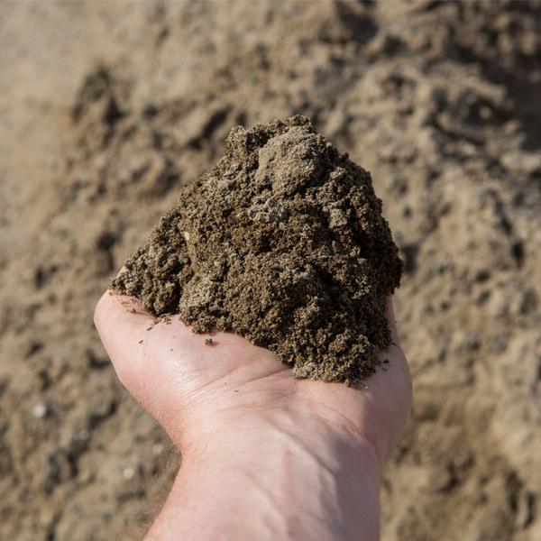 Rock gravel sand